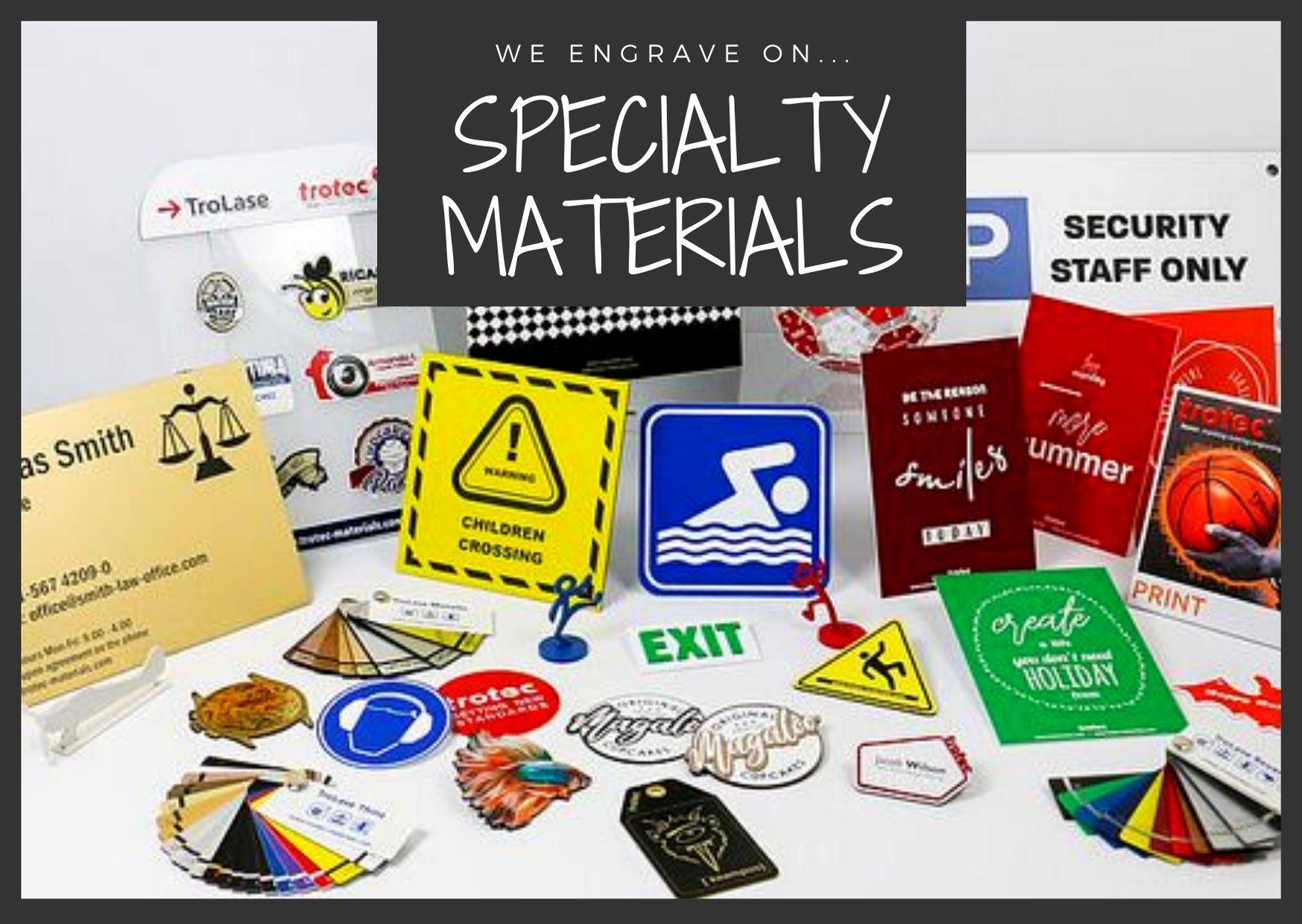 Laser materials